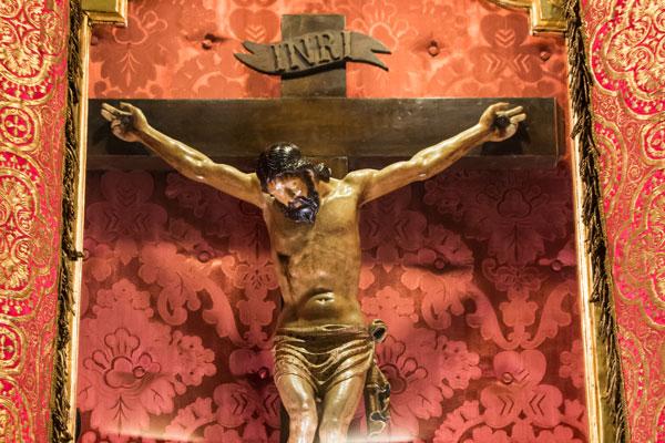 Patrimonio religioso: Imagen del Santo Cristo