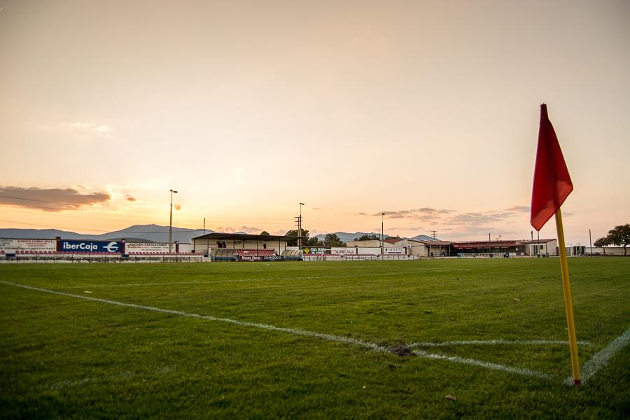 Campo de futbol La Platea de Cariñena