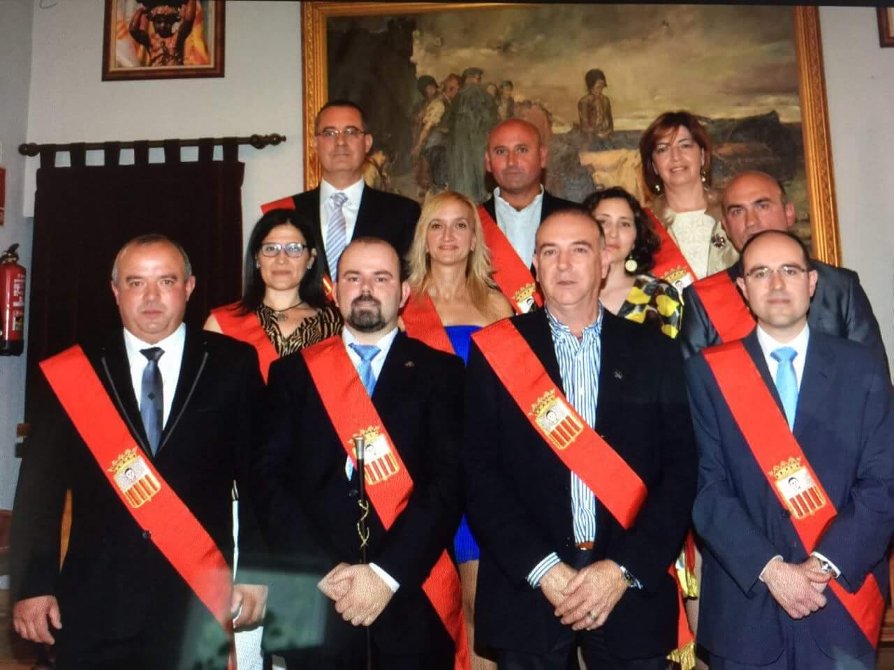 Corporacion municipal 2015 Cariñena