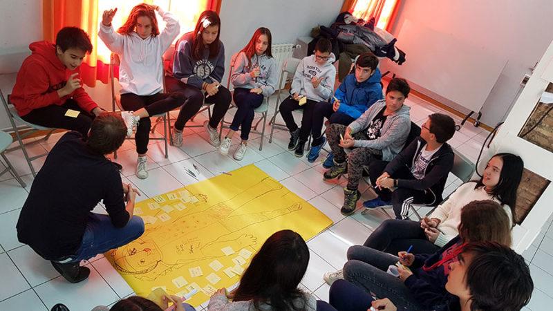 Taller mediación contra la violencia género consejo infantil